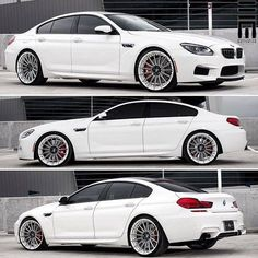 BMW F06 M6 Gran Coupe white