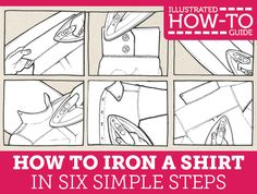 How to Iron a Shirt in Six Simple Steps
