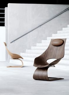 Japanese architect Tadao Ando pays tribute to Danish furniture designer and mid-century master Hans J Wegner with the Dream Chair | Manufactured by Carl Hansen & Son
