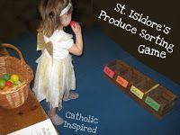 St. isidores Produce Sorting Game
