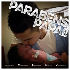 01.04.2015 - Nascimento da filha de Alan Kardec