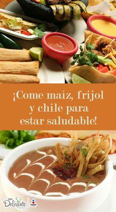 alimentacion basada en maiz frijol y chile   CocinaDelirante