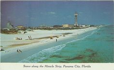 what panama city beach use to look like