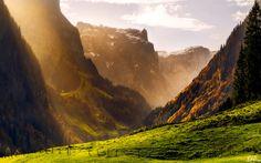 Swiss Alps in Autumn. #Chocolateland