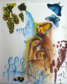 """Salvador Dalí: """"Las cuatro estaciones, El verano"""" 131/350 - Subasta Real"""