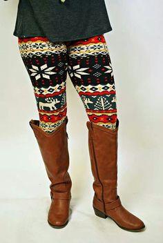 Country winter leggings.