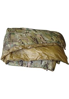 """Kifaru Woobie are designed to replace the USGI poncho liner, are MUCH warmer & lighter (1 lb., 4 oz. vs. 1lb 12.8 oz for a new issue standard poncho liner). They are also great as a sleeping bag liner or ground cloth. Our Climashield insulation is continuous filament - so strong that no quilting is needed. Plus, it has a better """"feel"""" and draping capabilities - no quilting, so there are no cold spots. Coupled with our water resistant RhinoSkin Shell, you get immediate warmth and protection."""