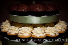 love the frosting designs on top of the cupcakes