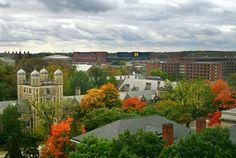 Fall in Ann Arbor, Michigan GO BLUE!