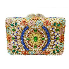 Luxury Diamond Crystal Evening Bag Ladies Clutch Bag_13     https://www.lacekingdom.com/