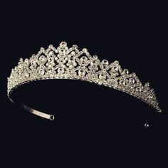 """The Diana"" Royal Rhinestone Bridal Tiara"