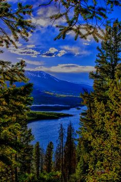 Dillon Reservoir, Dillon/Frisco/Silverthorne, Colorado [photo only] State Of Colorado, Colorado Mountains, Dillon Colorado, Rocky Mountains, Grand Canyon, Places To Travel, Places To See, Lake Dillon, Paintings