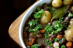 Wild Mushroom Stew with Grass-Fed Beef