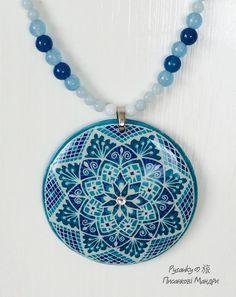 Jewelry to make any girl drool!!! Pysanky Jewelry by Tetyana Solotska Pysanky Japan