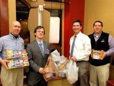 On Tuesday evening at the Rutherford County Young Republicans meeting nearly 50 people contributed enough food to fund the Bradley Academy Back Pack food program for the next 3 months.