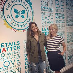 Jessica Alba and Reese Witherspoon, two of the most powerful boss ladies in Hollywood, spent a day at The Honest Company's headquarters talking business and learning about each other's projects.