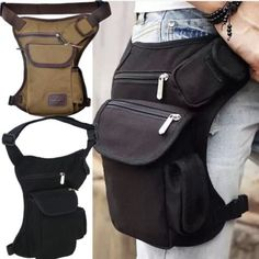 #Sports hiking cycling #ajustable belt travel #fanny waist bag thigh drop leg bag, View more on the LINK: http://www.zeppy.io/product/gb/2/361393908928/