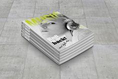 Magazine Cover Template 1 by printdesignbundle on @creativemarket