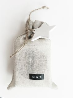 linen bag wrapping