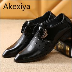 Office Men Dress Shoes Italian Wedding Man Casual Shoes Oxfords Suit Shoes Man Flats Leather Shoes Zapatos Hombre