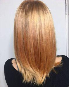 Subtle Strawberry hairstyle