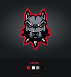 Red dog, sport mascot design, hope you like it :-) , pls appreciate this if you like it