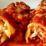 Best Baked Manicotti...this tastes great plus it has instructions for making ahead and/or freezing. For two people it's nice to make in smaller portions...so great!