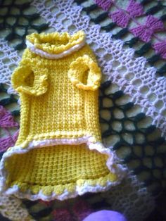 Projects on Craftsy: Puppy Sweater from Katya71 #diy #crafts #doityourself #crafting