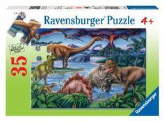 Amazon.com: Ravensburger Dinosaur Playground - 35 Piece Puzzle: Toys & Games