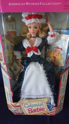 Vintage Special Edition Colonial Barbie Doll by tennesseehills, $20.00