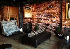 Smith Commons on H Street, love exposed brick