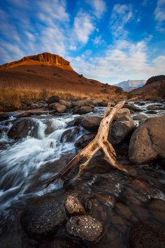 Afternoon on the River Giants Castle Nature Reserve, Drakensberg, South Africa Mark Dumbleton Photography