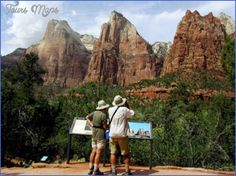 nice Traveling in Zion National Park