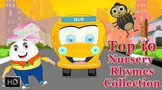 Top 10 Nursery Rhymes Compilation for Kids | HD Popular Songs | Wheels o...
