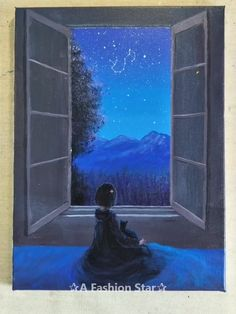 you looking for some Easy Painting for home Decor? The art of starry sky painting is very popular in recent yearsAre you looking for some Easy Painting for home Decor? The art of starry sky painting is very popular in recent years Easy Canvas Painting, Sky Painting, Easy Paintings, Canvas Art, Painting Videos, Star Art, Wow Art, Acrylic Art, Art Tutorials