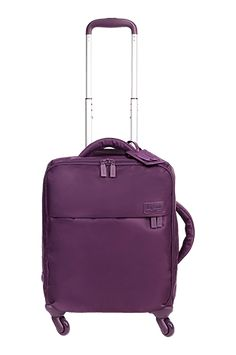 Originale Plume Cabin Luggage 4 Wheels 50cm Purple | Lipault