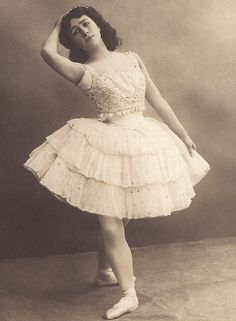 Matilda Kschessinskaya in 'La Esmeralda' - Imperial Ballet. Here's the only Russian dancer to have ever received the title Prima Ballerina Assoluta. She is of society fame (and scandal) due to her relationships with members of Russia's ruling house (including the then heir to the throne Nicholas).