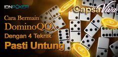 Pada kesempatan yang spesial ini. Capsaviva selaku Agen IDN Poker Terbaik di Indonesia akan memberikan sebuah ulasan menarik tentang Panduan Lengkap Cara Bermain Dominoqq Terbaru Dijamin Akurat Poker