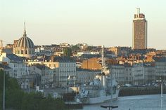 The place I live in. Nantes France, Belem, Loire, New York Skyline, Wanderlust, Spaces, Travel, Cities, Brittany