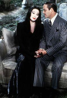 Morticia and Gomez -- The Addams Family 1991                                                                                                                                                                                 More