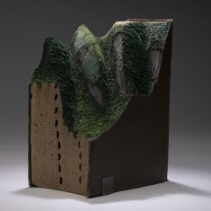 Book sculpture by Guy Laramée