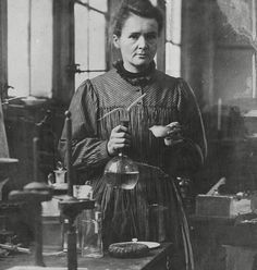 Marie Curie - woman changed world