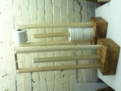 Cricket Stumps Loo Roll Holders, a great gift for fans of cricket.and toilet paper!