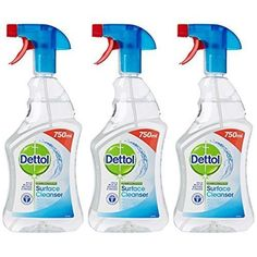 ICYMI: Dettol Anti-Bacterial Surface Cleanser, 750 ml - Original, Pack of 3