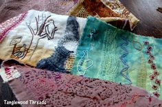 Tanglewood Threads 'scratching'  Penny Berens