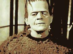 Gif  Frankenstein Monster's Raspberry