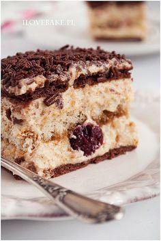 Chałwowiec bez pieczenia - I Love Bake Unique Desserts, Cold Desserts, No Bake Desserts, Dessert Recipes, Polish Recipes, Russian Recipes, Dessert For Dinner, Pavlova, Sweet Recipes