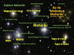 TOUCH this image: Matariki activities by Michele Coxhead