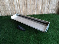 Stainless Steel Water Blade with spout overhang - BSP threaded socket bottom inlet. Supplied with multi step plastic hosetail fitting to suit pond pipe. Pond Covers, Pond Netting, Pool Shade, Flexible Pipe, Koi Fish Pond, Thing 1, Rock Pools, Steel Water, Back Gardens