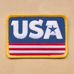 """Draplin Design Company """"DDC-106 USA Patch"""""""
